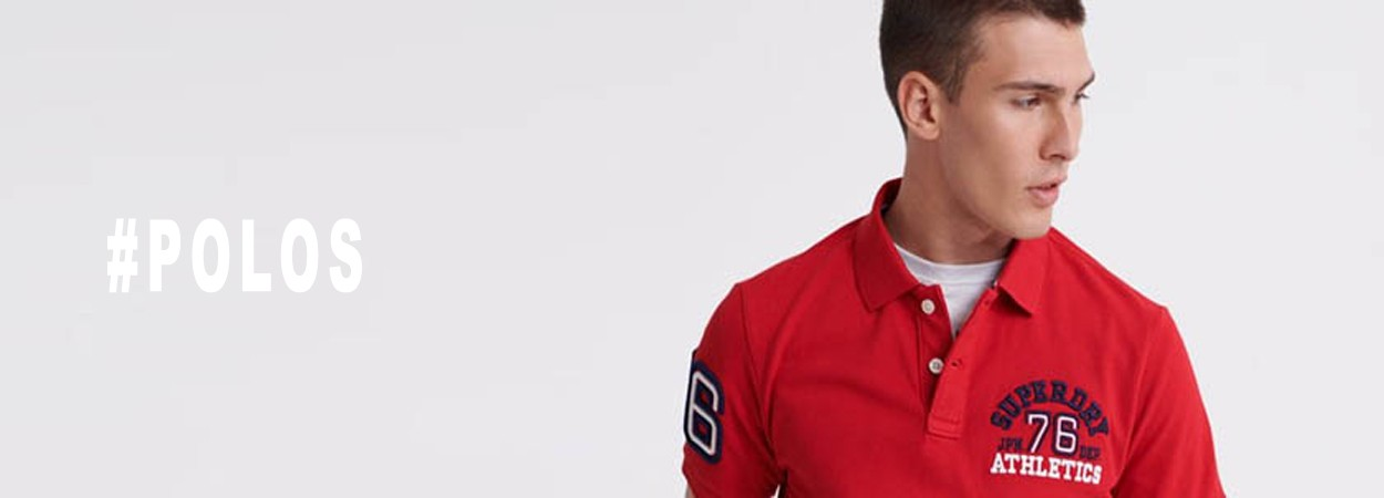 SUPERDRY POLOS